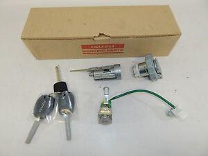 New OEM 2012-2016 Isuzu D-Max Key Cylinder Set Auto Lock 2 Remote Fuel Cap