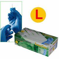 SunnyCare #8603 Powder-Free Nitrile Medical Exam Gloves (Vinyl Latex Free) Large