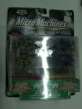VINTAGE 1999 Micro Machines MILITARY A-FORCE V COBRA DOGFIGHT FIGHTER JET MOC