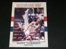 Bart Conner Auto Signed 1991 Impel USOC HOF #82 JSA C