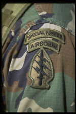 414058 Special Forces Patch A4 Photo Print