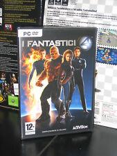 I FANTASTICI 4 GIOCO PC DVD ROM NUOVO IMBALLATO ITA
