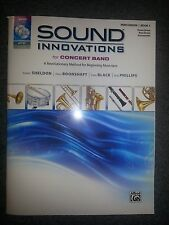 Sound Innovations For Concert Band Percussion Book 1 W/ Mp3 Cd And Dvd