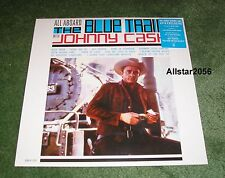 "2016 JOHNNY CASH~ALL ABOARD THE BLUE TRAIN~12"" BLUE VINYL~RSD~RECORD STORE DAY"