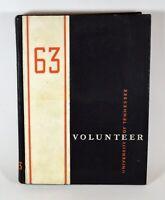 Vintage 1963 University of Tennessee Vols Volunteers UT Yearbook, Hardcover