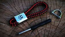 Lederband Schlüsselanhänger NEU Volkswagen VW Golf Polo Passat Touran Sharan