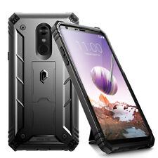 Full Coverage Shockproof Cover Case For LG Stylo 4 Plus / LG Stylo 4  Black