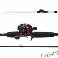 Abu Garcia Combo Black Max -L/662M Baitcast Rute & Rolle 15-45g LH Rolle