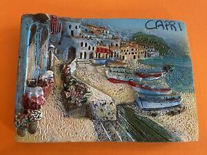 Souvenir Fridge Magnet - Capri Italy 🇮🇹