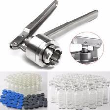 1Pc Hand Crimper Manual Sealing Machine 100Set 10ml Vials&Caps&Stopper Tool Pop
