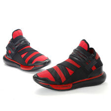 2018 Y3 Qasa High Yohji Yamamoto Light Weight Lace Up Men's Black Athletic Shoes