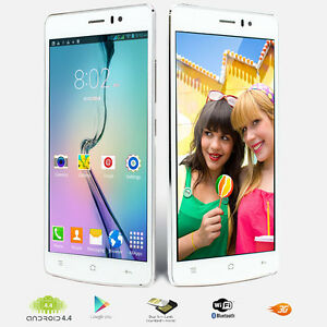 """3G Unlocked 2Core 5.5"""" Android 4.4 Smart Phone AT&T Straight talk Simple Mobile"""