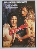 Gnadenlos NO MERCY Richard Gere, Kim Basinger - Filmplakat DIN A1 (gerollt)