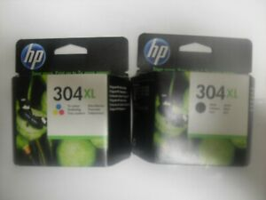 Genuine HP 304 XL Black Ink Cartridge and Tricolor €20 each  (Irish Seller)