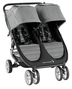 Baby Jogger City Mini 2 Twin Baby Double Stroller Slate 2020 Open Box
