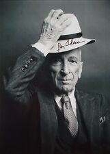 Gay Talese Hand Signed Autograph Photo  Esquire Writer  Frank Sinatra Has A Cold