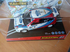 """Scalextric Ford Focus WRC """"Monte Carlo 99"""" Ref. 6026"""