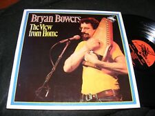 BRYAN BOWERS The View From Home LP FLYING FISH Autoharp 77 FOLK Claudia Schmidt