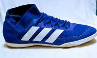Adidas NEMEZIZ TANGO Blue/White Size 10.5 Men's Indoor Soccer/Football Shoes