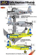 LF Models Decals 1/72 VULTEE BT-13 LATIN AMERICAN VIBRATORS Part 7