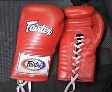 Boxing, Kikboxing, Muai-thai gloves Fairtex Bgl6 10 Oz Red