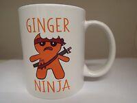 Ginger Ninja 11oz Ceramic mug Gift birthday christmas