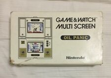 Nintendo - OIL PANIC - Game and Watch OIL - COMPLETE in BOX (Boxed)