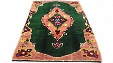 "Antique vintage Turkish handmade hand-knotted thick rug 53""x 85"" pure wool  # 45"
