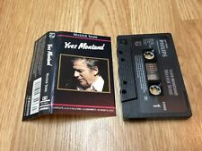 """YVES MONTAND  K7  """" Master Série """" PHILIPS Canada 1991'"""