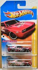 HOT WHEELS 2011 NEW MODELS DODGE CHALLENGER DRIFT CAR COLOR VARIATION W+