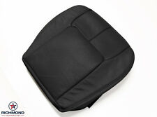1999 2000 2001 Cadillac Seville STS-Driver Side Bottom Leather Seat Cover Black