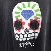 Diamond Supply Paul Rodriguez T-Shirt Skull Day of Dead Skateboarding 3XL XXXL