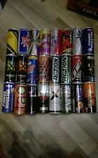 Set 1 Energy Drink doses collection 24 vide différentes Cans 250 ml Empty monstre