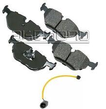 For BMW E34 525i M3 Rear Disc Brake Pad & Sensor Akebono/Bowa