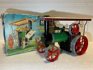 Vintage - Mamod Traction Engine T.E1A Reversing - Made in England - Rare