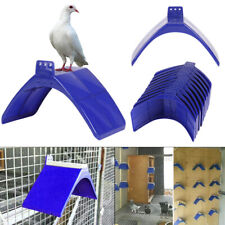 20X Perches V Pigeon Bird Dove Pet Rest Stand Roost Frame Dwelling Kit UK Blue