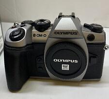 OLYMPUS OM-D E-M1 MARK II 20.4 MP DIGITAL CAMERA - Silver BODY ONLY