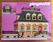 New Vintage Playmobil Victorian House 5305 - Open Box