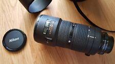 Nikon 80-200mm zoom leyenda 1:2 .8 d ed af Nikkor diafragma utilizada bokeh & nitidez