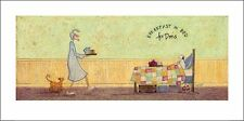 SAM TOFT (BREAKFAST IN BED FOR DORIS) Cat No: PPR41136  ART PRINT  50 x 100cm