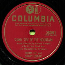 WILMA LEE & STONEY COOPER (Sunny Side Of Mountain) CLASSIC COUNTRY 78 RPM RECORD