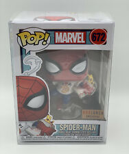 *IN HAND* FUNKO POP! MARVEL EAT 672 SPIDER-MAN PIZZA Box Lunch + Soft Protector