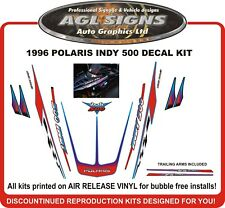 1996 POLARIS INDY 500 Reproduction Decal Kit  graphics stickers