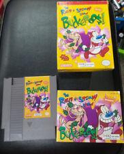 THE REN AND STIMPY SHOW BUCKEROOS - Complete w/ case- Nintendo NES