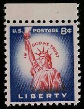 1954 8c Statue of Liberty, Original, Rotary Scott 1041B Mint F/VF NH