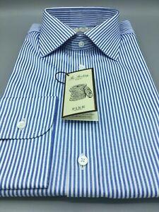 Thomas Pink, Blue & White Stripe Shirt, UK:16.5, EU:42, BNWT, RRP:£115!