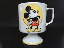 Walt Disney Productions Pedestal Footed Mickey Mouse Coffee Mug Vintage