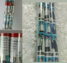 American Greeting One Direction Gift Wrapping Paper 6 Rolls 120 sq Feet Sealed