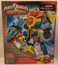 Power Rangers Ninja Storm - Mega Bloks Storm Megazord Zords Combine! (MISB)