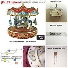 Mr Christmas Triple Decker Carousel REPLACEMENT PART - MOTOR KIT